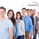 lining up for posture month pictures