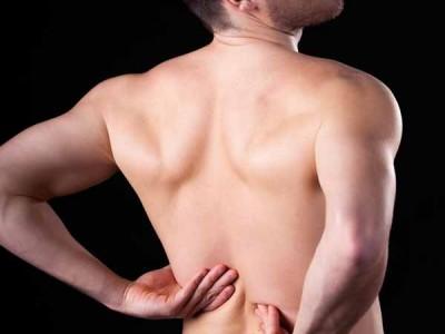 back pain sufferer