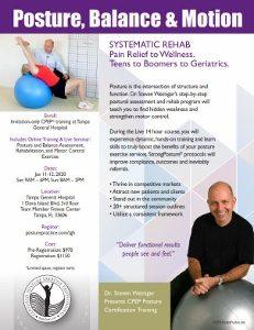 hospital posture training