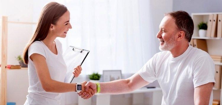 Posture principles acute care setting
